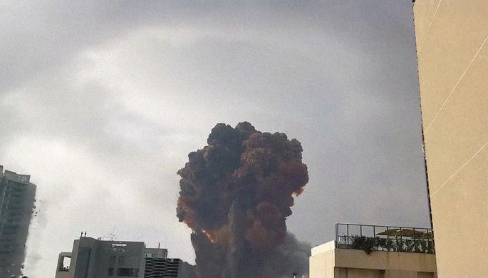 Последствия взрыва в Бейруте, 4 августа 2020 года