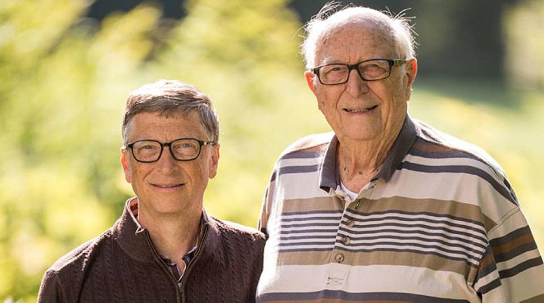 Умер отец основателя Microsoft Билла Гейтса - Газета.Ru