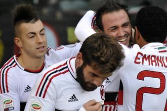 «Милан» переиграл на выезде «Торино»