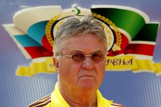 Гус Хиддинк остается главным тренером «Анжи»