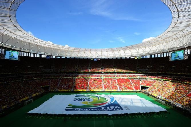 Церемония открытия Кубка Конфедераций-2013.