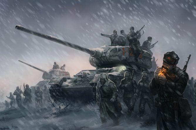 В компьютерных играх русских принято изображать жестокими солдатами и ненадежными союзниками
