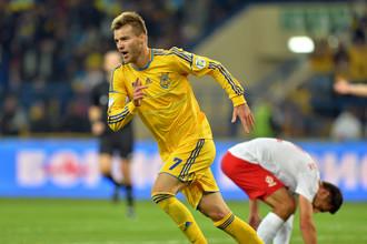 Гол Андрея Ярмоленко принес Украине победу над Польшей