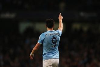 Гол Альваро Негредо принес «Манчестер Сити» победу над «Ливерпулем»
