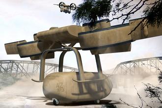 США создают летающего робота