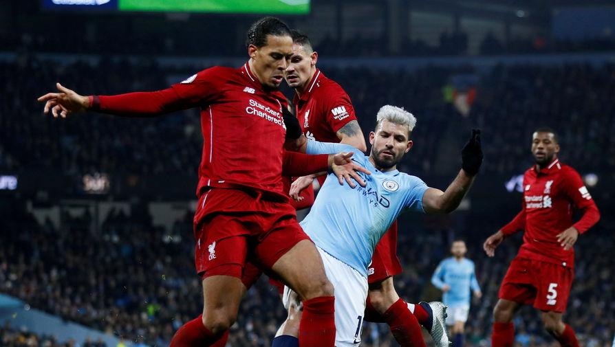 Эпизод матча «Манчестер Сити» — «Ливерпуль»
