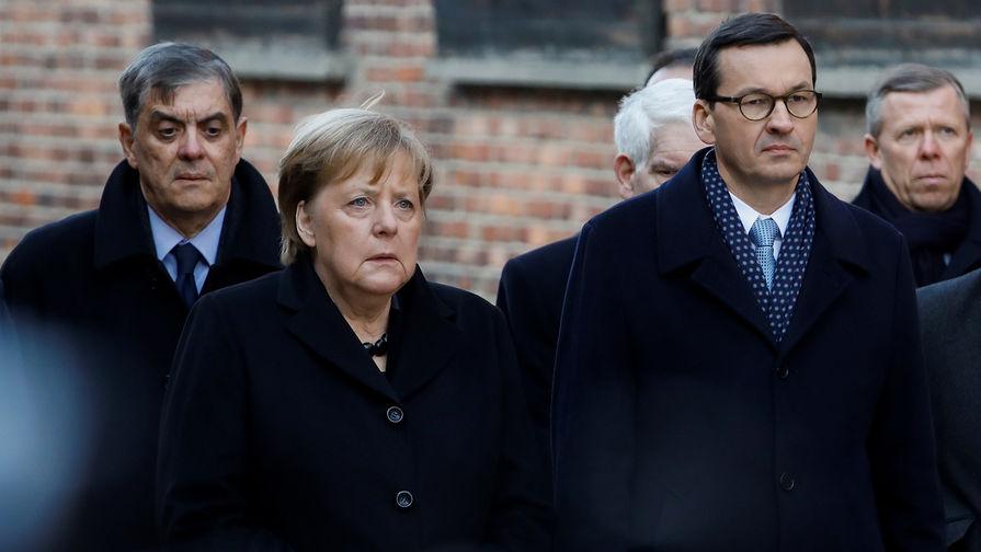 Меркель рассказала о стыде за преступления нацистов в Освенциме