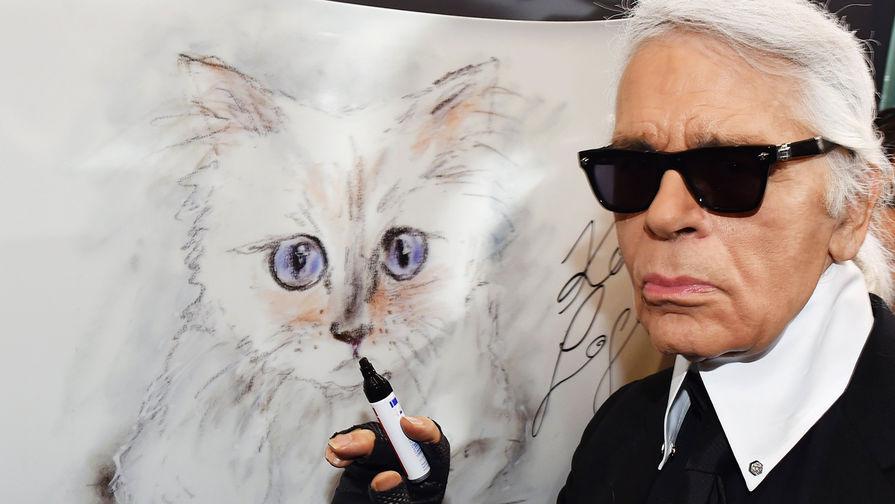 Кошка и наследница Лагерфельда сделала заявление