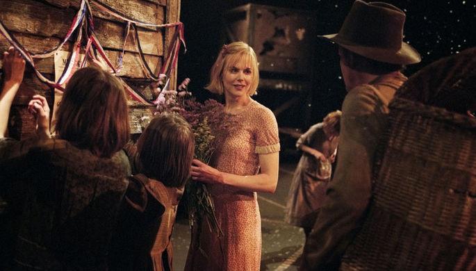 Кадр из фильма «Догвилль»