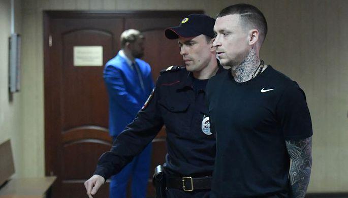Павел Мамаев в здании Пресненского суда
