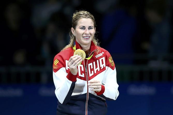 Российская рапиристка Инна Дериглазова стала чемпионкой Олимпийских игр, победив в финальном поединке итальянку Элизу Ди Франчиску со счетом 12:11