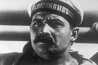 Кадр из кинофильма «Броненосец Потемкин» (1925)