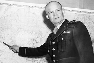 34-й президент США Дуайт Эйзенхауэр