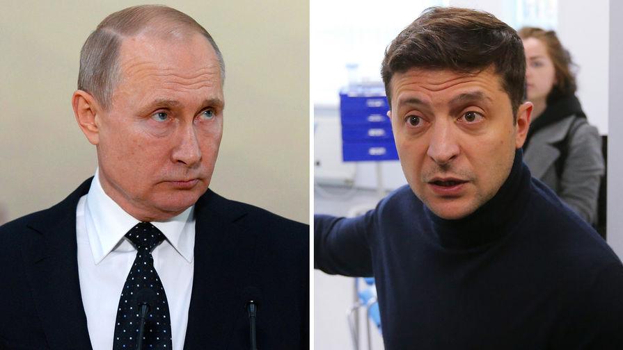 Киев допустил разговор Путина и Зеленского