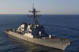 Шестой за год: что делают корабли США в Черном море
