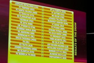 В Ньоне состоялась жеребьевка Лиги Европы 2012/13