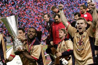 ЦСКА — первый в истории российский клуб, завоевавший Кубок УЕФА