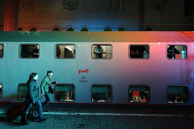 картинки двухэтажный поезд москва сочи инструкция как