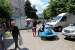 Даже ввыходные всамом центре Луганска гуляет только молодежь