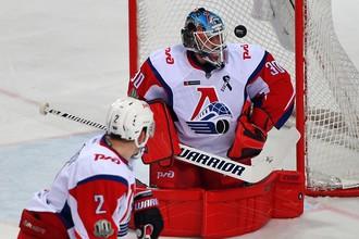 Вратарь «Локомотива» Алексей Мурыгин