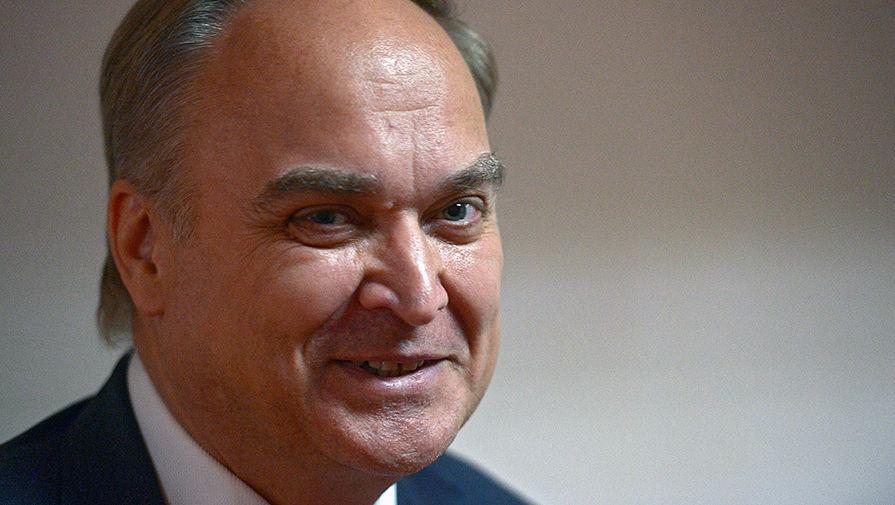 Посол Антонов предложил США возобновить работу комиссии Берингова пролива