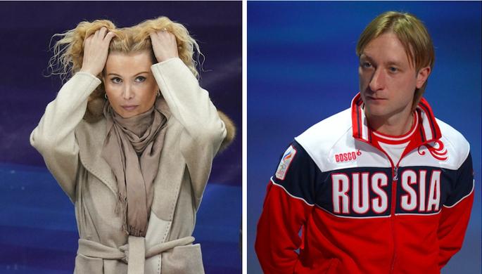 Этери Тутберидзе и Евгений Плющенко