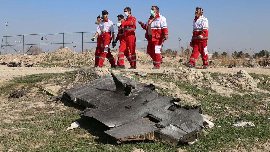 Украина получила от Тегерана отчет о сбитом Boeing 737