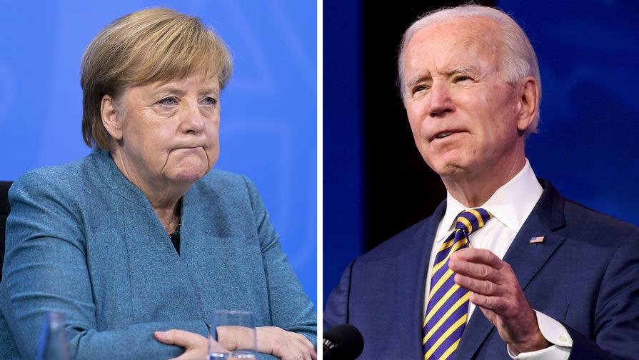 Байден и Меркель обсудят «Северный поток — 2» на встрече в Вашнгтоне