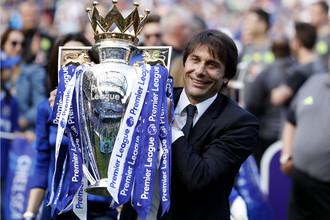 Главный тренер «Челси» Антонио Конте признан лучшим наставником сезона