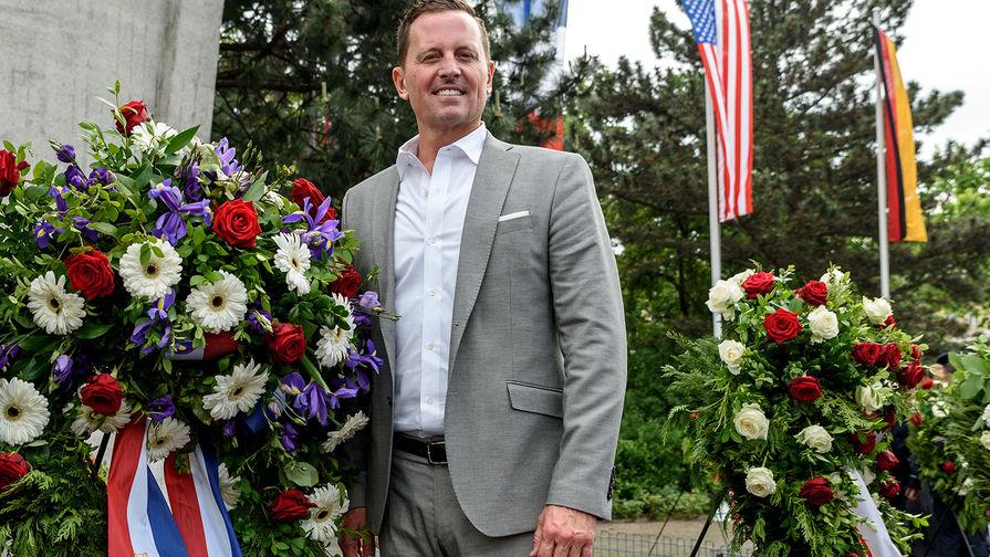 Посол США в Германии Ричард Гренелл в Берлине, май 2018 года