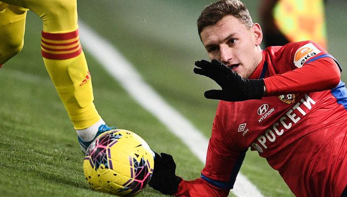 Никола Влашич в матче Лиги Европы «Вольфсберг» — ЦСКА