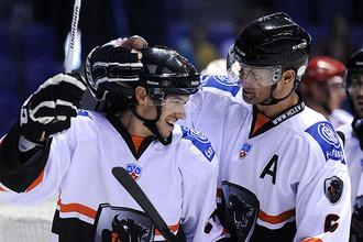 Хоккеисты «Льва» набрали первое очко в КХЛ