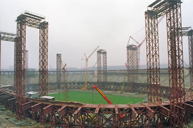 Реконструкция Большой спортивной арены в Лужниках, 1996 год