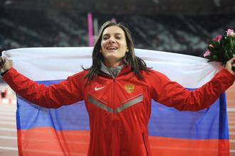 Елена Исинбаева на Олимпийских играх в Лондоне