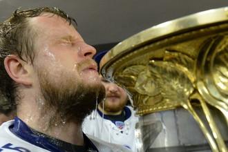 Московское «Динамо» готовится выиграть третий Кубок Гагарина подряд