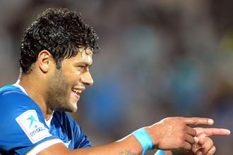 Бразилец Халк забил три мяча в двух последних матчах «Зенита»