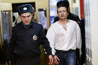 Илья Фарбер в Московском районном суде Твери перед рассмотрением ходатайства об условно-досрочном освобождении