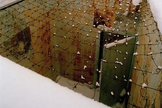 Прогулочный дворик для заключенных на территории музея ГУЛАГа Пермь-36