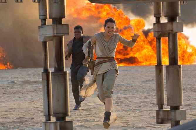 Кадр из фильма «Звездные войны: Пробуждение Силы»