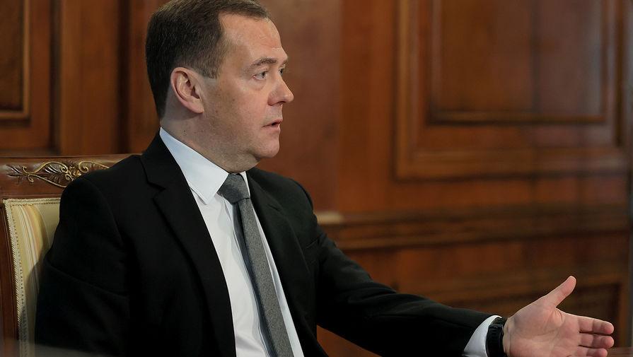 Медведев оценил состояние российско-американских отношений