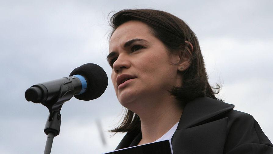 Тихановская призвала США ввести санкции против основных предприятий Белоруссии