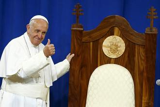 Папа Франциск, 2015 год