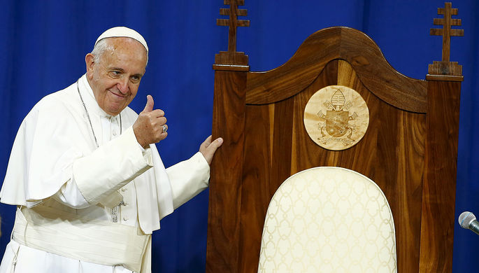 Папа Римский пообещал показать секретные архивы Ватикана