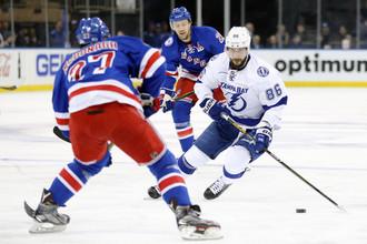 Форвард «Тампа-Бэй Лайтнинг» Никита Кучеров обновил личный ассистентский рекорд в НХЛ