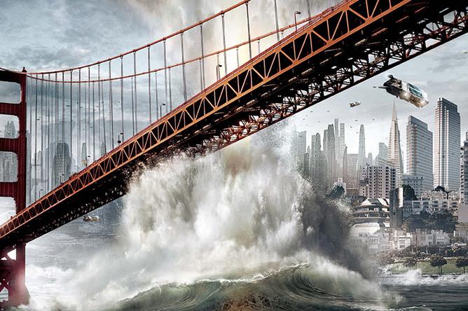 Фрагмент плаката к фильму «Звездный путь» (2009)