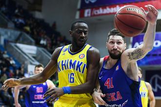 ЦСКА и «Химки» играют второй матч финала Единой лиги ВТБ