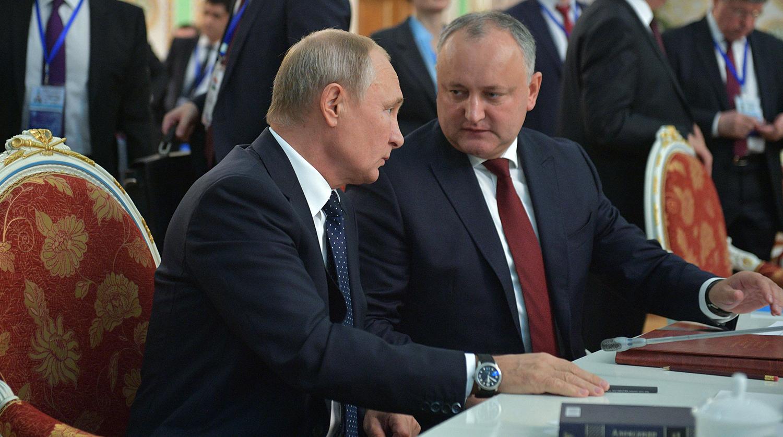Путин встретился с Додоном