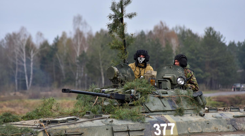 Россия, Сербия и Белоруссия проводят совместные учения