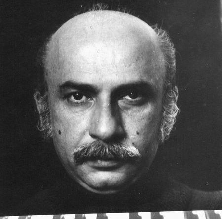Композитор Гия Канчели, архивный снимок из коллекции Нино Мелия