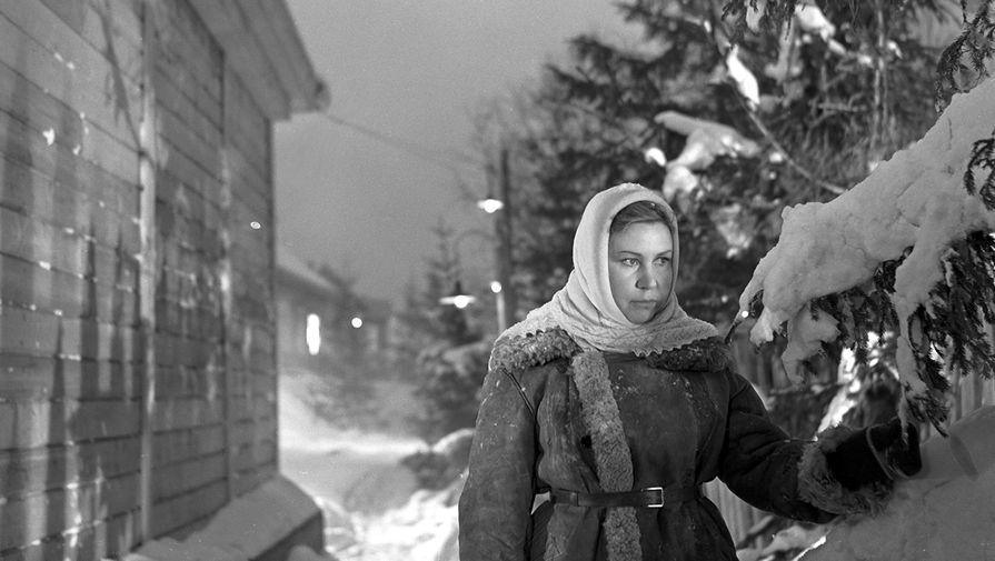 Кадр из фильма «Девчата», 1961 год.Надя- артистка Инна Макарова